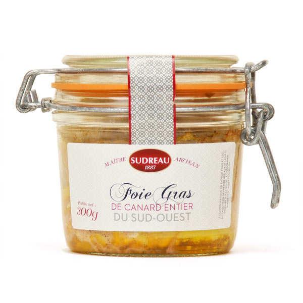 François Sudreau Foie gras de canard entier du Lot - Bocal 180 g