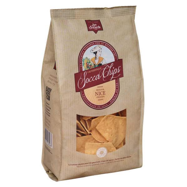 Socca Chips® - Chips de pois chiche - Sachet 40g