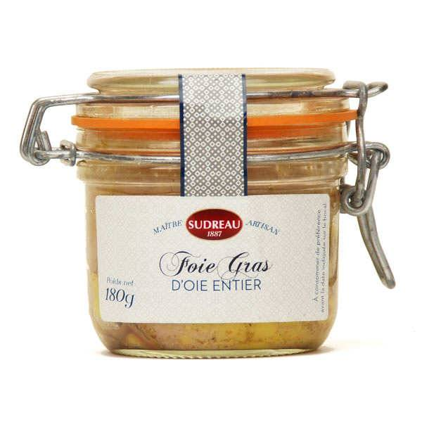 François Sudreau Foie gras d'oie entier du Lot - Bocal 180g