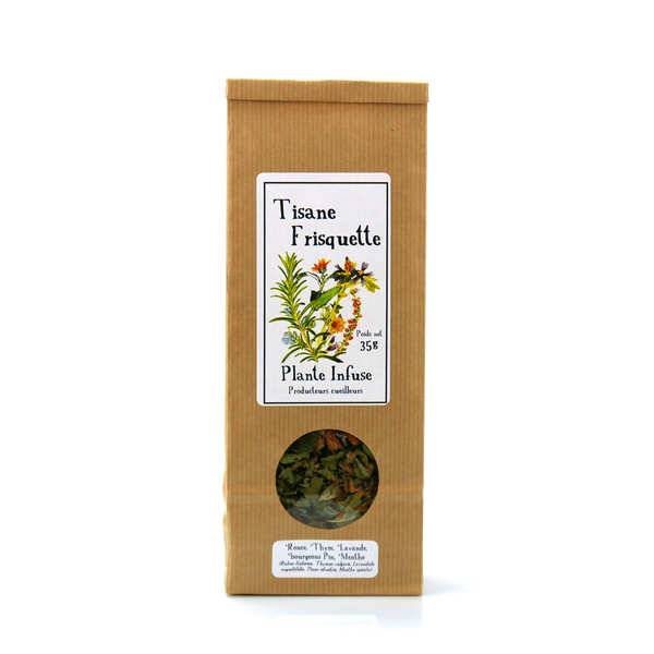 Plante Infuse Tisane frisquette bio - Sachet 35g