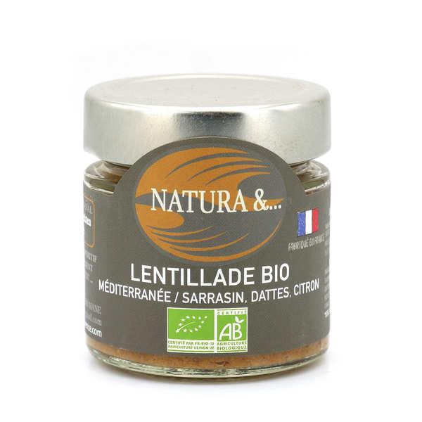 Pellegrain en Provence Lentillade du midi bio à tartiner - Lentilles germées, sarriette, marjolaine - Verrine 100g