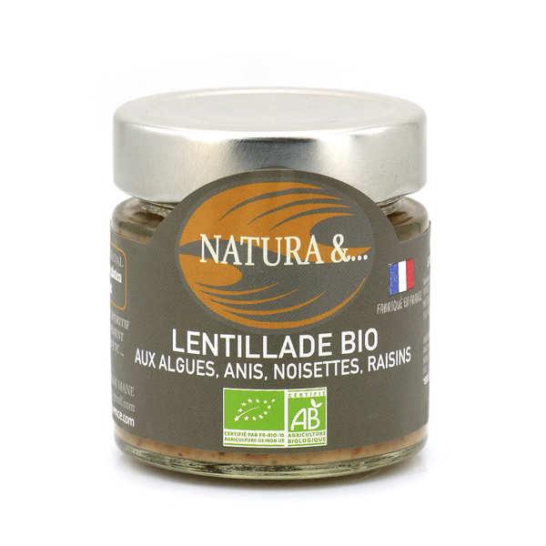 Pellegrain en Provence Lentillade bio à tartiner - Lentilles germées, romarin, genièvre - Verrine 100g