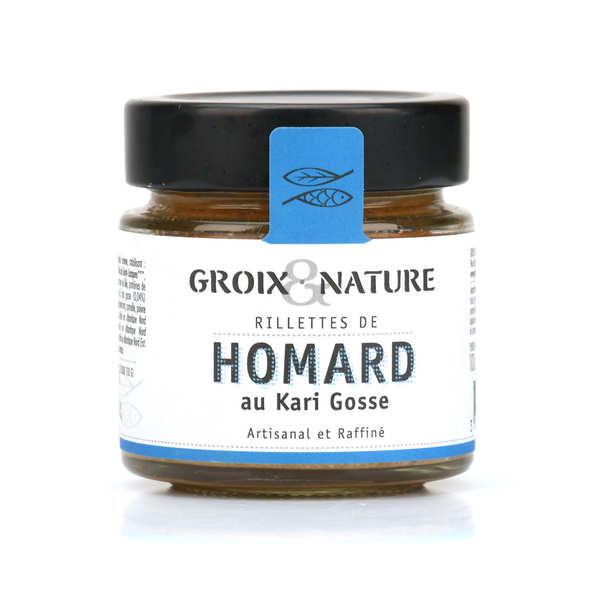 Groix & Nature Rillettes de homard au kari gosse - Verrine 100g