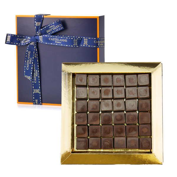 Castelanne Coffret Les pavés de Nantes Castelanne - chocolat praliné - Coffret 130g