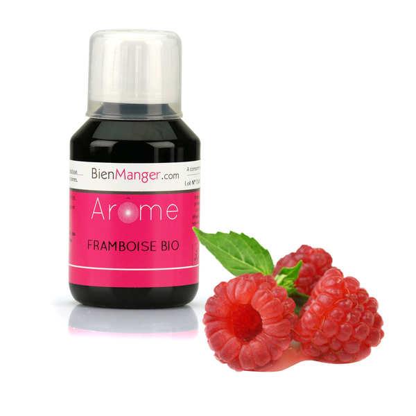 BienManger aromes&colorants Arôme alimentaire de framboise bio - Flacon doseur 115ml