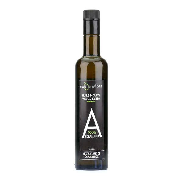 Can Oliveres Huile d'olive vierge extra 100% Arbequine - Bouteille 50cl