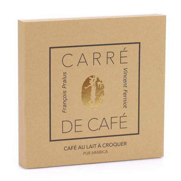 Chocolats François Pralus Carré de café® lait - Carré 50g