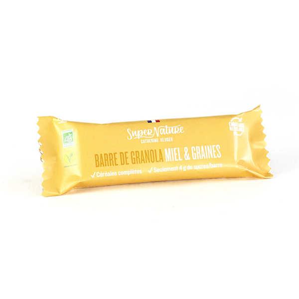 Granola Catherine Kluger Barre de granola au miel et aux graines bio - Barre 35g