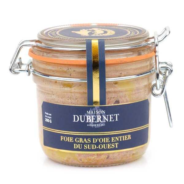 Maison Dubernet Foie gras d'oie entier - Maison Dubernet - 3 bocaux de 200g