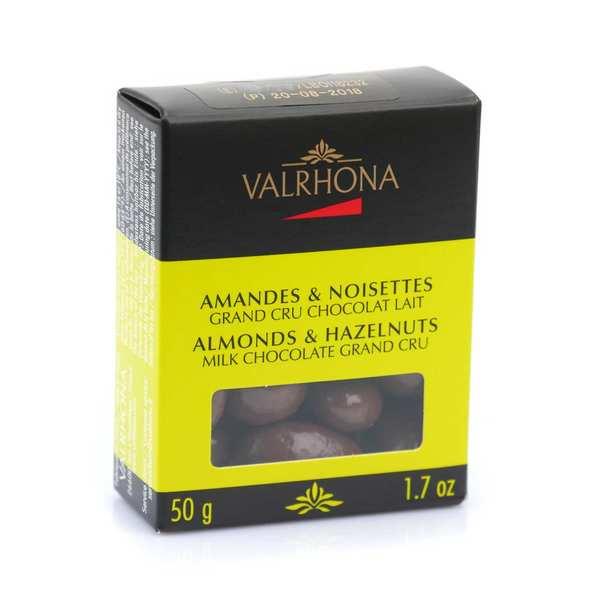 Valrhona Amandes et noisettes au grand cru chocolat lait - Valrhona - Boîte 50g