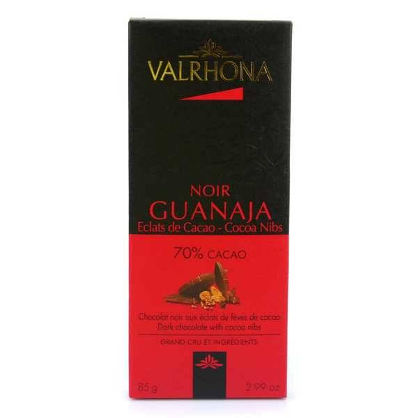Valrhona Tablette de chocolat noir Guanaja 70% éclats de cacao - Valrhona - 2 tablettes de 85g