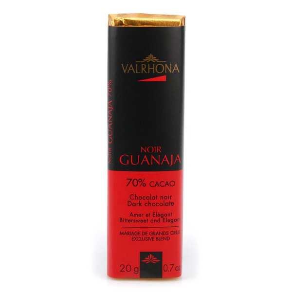 Valrhona Bâton de chocolat noir Guanaja 70% - Valrhona - 10 bâtons de 20g