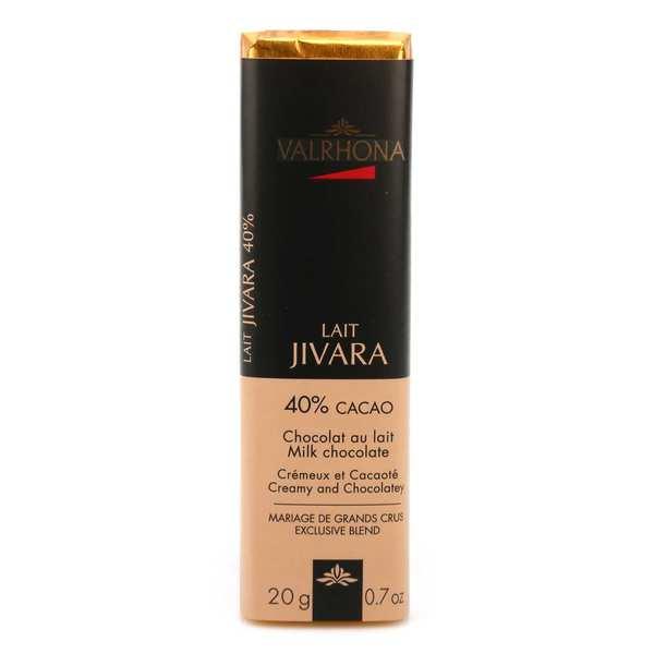 Valrhona Bâton de chocolat au lait Jivara 40% - Valrhona - 10 bâtons de 20g
