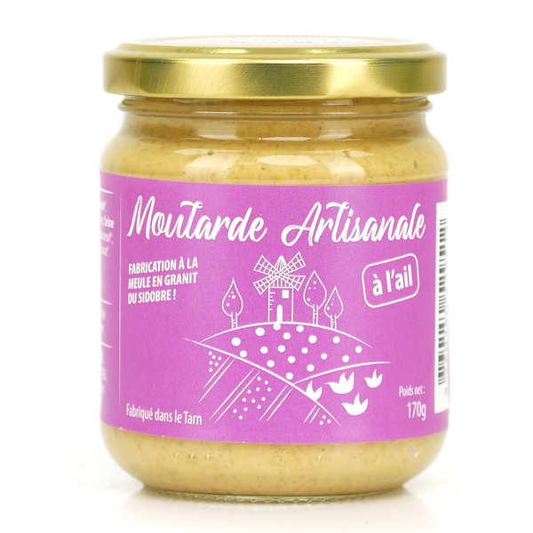Moutarde Eglantine de Lautrec Moutarde à l'ail de Lautrec - Pot 170g