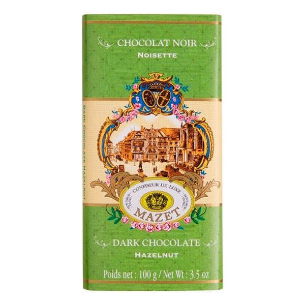 Mazet de Montargis Tablette de chocolat gianduja noisette - Tablette 100g