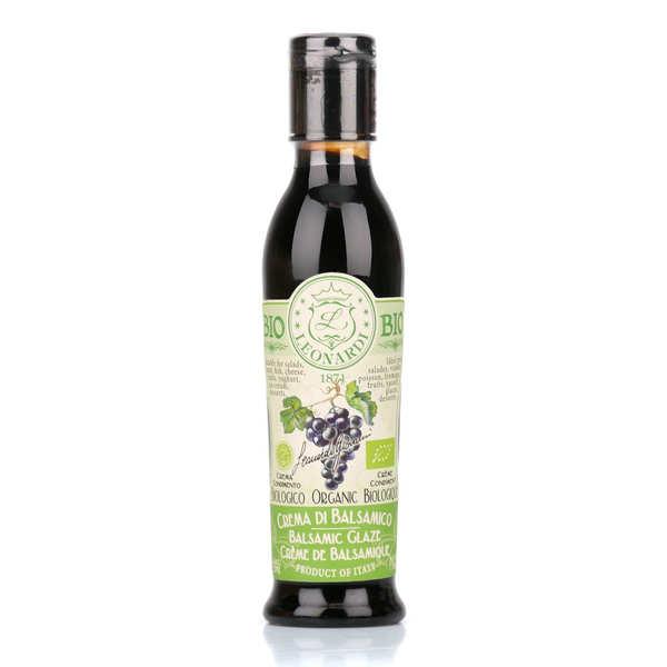 Vinaigrerie Leonardi Crème de balsamique bio - Flacon souple 220ml