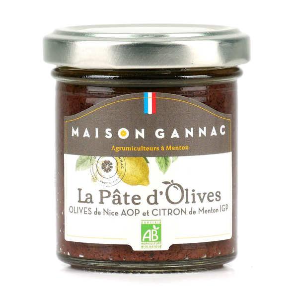 La Maison du Citron Pâte aux olives de Nice AOP et citron de Menton - Verrine 85g
