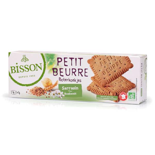 Bisson Petit beurre au sarrasin bio - 6 paquets de 150g