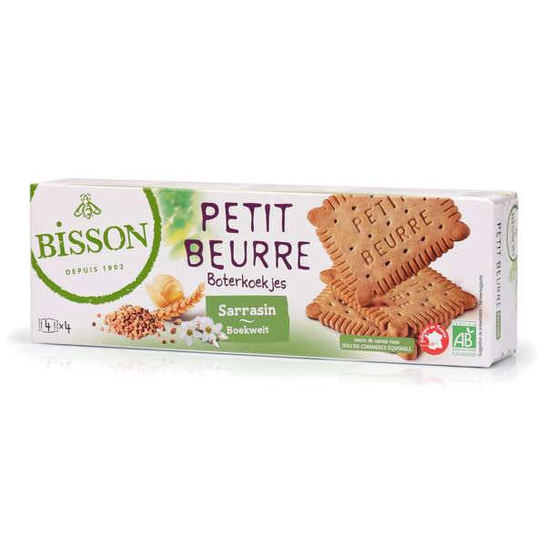 Bisson Petit beurre au sarrasin bio - Paquet 150g