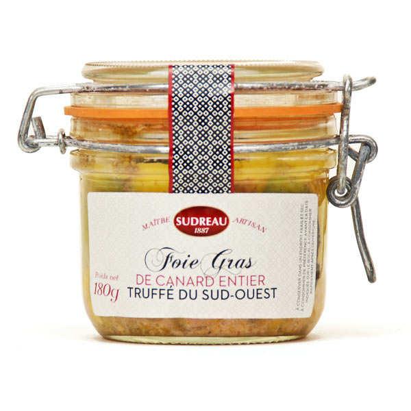 François Sudreau Foie gras de canard entier du Lot truffé - Bocal 180g