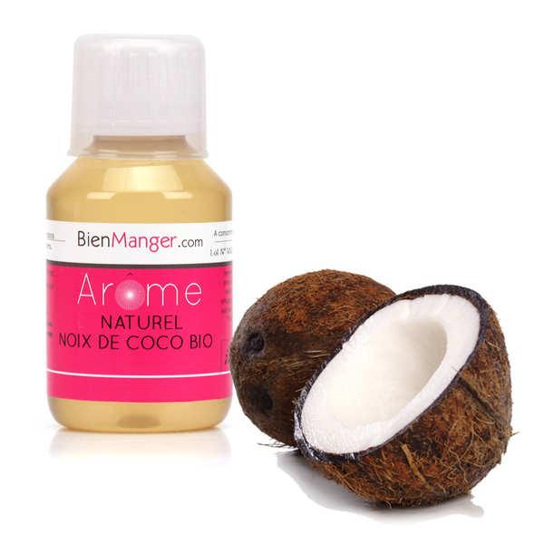 BienManger aromes&colorants Arôme alimentaire de noix de coco bio - Flacon doseur 115ml