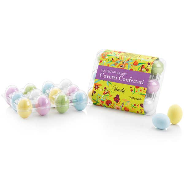 Venchi Boîte de petits oeufs fourrés au gianduja - La boîte 6 œufs