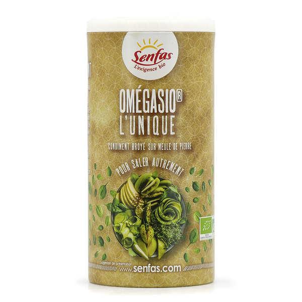 Senfas Omegasio® bio - Condiment - Pot 150g avec saupoudreur