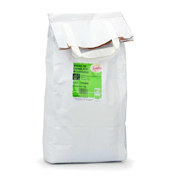 Senfas Sucre de canne blond bio et équitable du Brésil - Sac 5kg