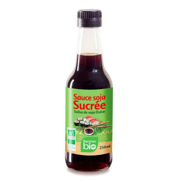 Racines Sauce soja sucrée bio - Bouteille 250ml
