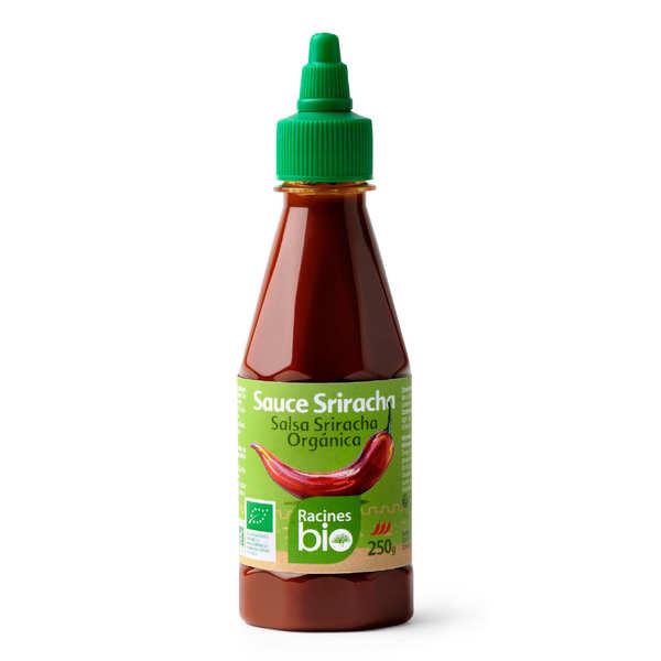 Racines Sauce piment sriracha bio - Bouteille 250g