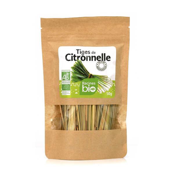 Racines Tiges de citronnelle séchées bio - Sachet 6g