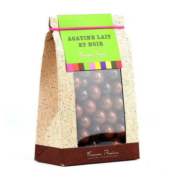 Chocolats François Pralus Agatines - Perles de maïs enrobées de chocolat - Boite 200g