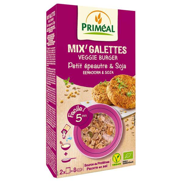Priméal Mix pour galette de petit épeautre et soja bio - Sachet 250g