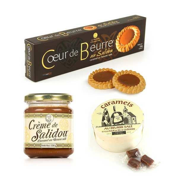 La Maison d'Armorine Assortiment autour du caramel au beurre salé - Assortiment produits bretons
