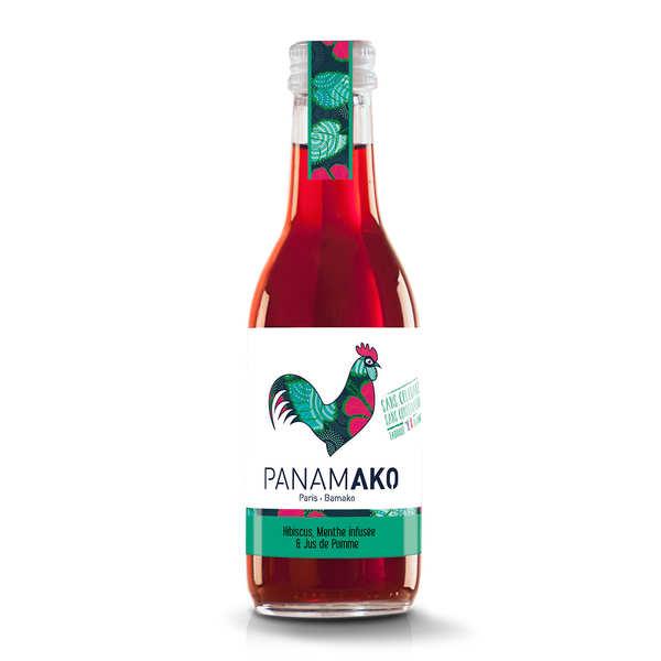 Panamako Hibiscus, menthe infusée et jus de pomme - 12 bouteilles de 25cl