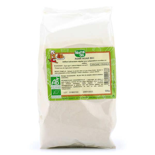 Nat-Ali Agar agar en poudre bio - En sac - Sachet 500g