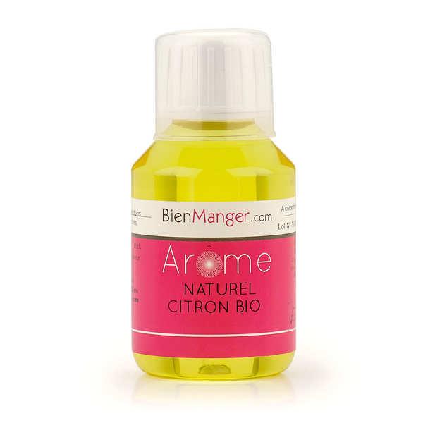 BienManger aromes&colorants Arôme alimentaire naturel de citron bio - Flacon doseur 115ml