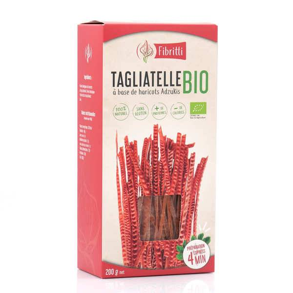 Fibritti Tagliatelles de haricots adzukis bio sans gluten - 3 boîtes de 200g