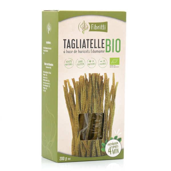 Fibritti Tagliatelles de haricots edamame bio sans gluten - 3 boîtes de 200g