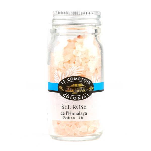 Le Comptoir Colonial Sel rose de l'Himalaya - Sachet de 1kg - 10 sachets de 1kg