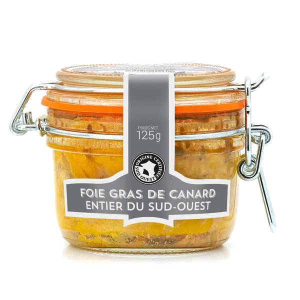 Maison Sauveterre Foie gras de canard entier IGP Sud-Ouest - Bocal Le Parfait 125g