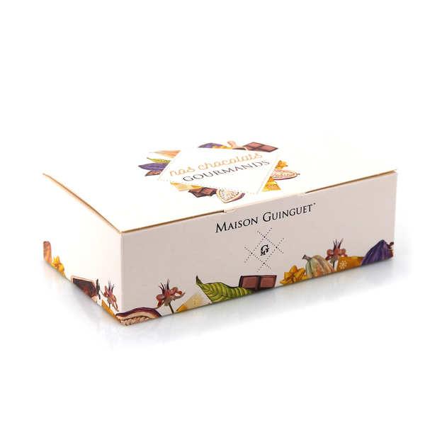 Maison Guinguet Assortiment de chocolats fins en ballotin - Lot de 3 ballotins 200g