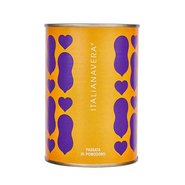 ItalianaVera Coulis de tomate italien artisanal - Boite 400g