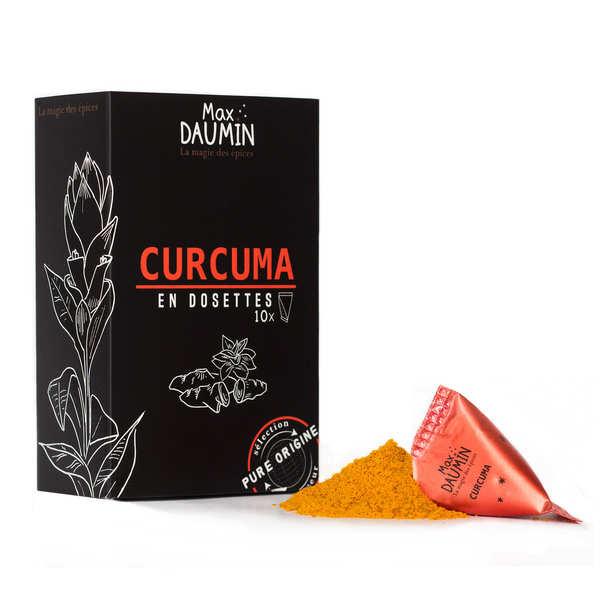 Max Daumin Dosettes de Curcuma de Madagascar - Boite de 10 dosettes