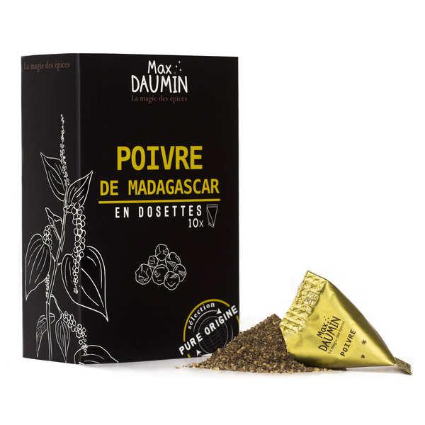 Max Daumin Dosette de poivre noir de Madagascar - Boite de 10 dosettes