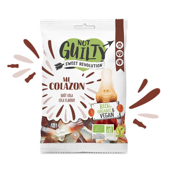 Not Guilty Bonbons Cola bio, sans gélatine animale & vegan - Mi Colazon - Sachet 100g