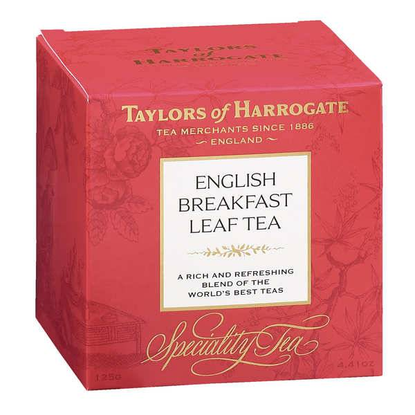 Taylors of Harrogate Thé English Breakfast en vrac - Boite 125g