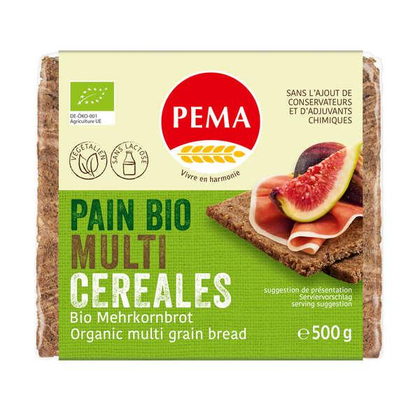 Pema Pain bio multi-céréales - Végétalien, sans lactose - Sachet 500g