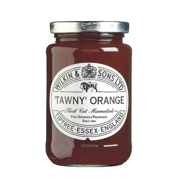 Tiptree Marmelade orange Tawny - écorce épaisse - Pot 340g