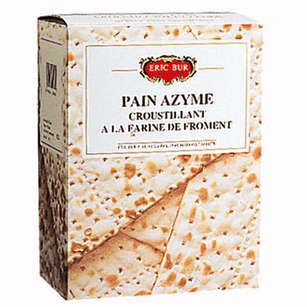 Eric Bur Pain Azyme au Froment - 6 boîtes de 200g
